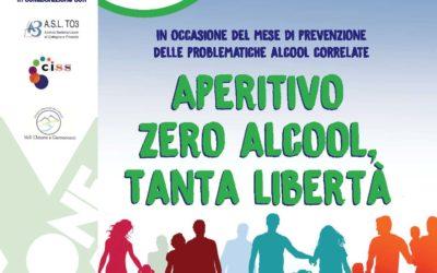 Serata di sensibilizzazione: Apertivo Zero Alcool, tanta libertà
