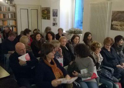 Ambasciatori per l'Alzheimer Libreria Volare - Pinerolo 17.3.2016 Pubblico in sala 2-12