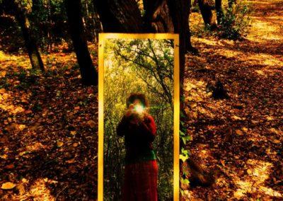 Concorso fotografico Sguardi diversibosco specchiato