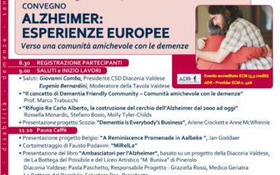 Alzheimer: esperienze Europee Verso una comunità amichevole con le demenze