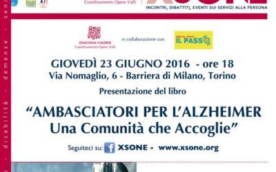 Presentazione Libro Ambasciatori per l'Alzheimer