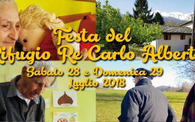 28/29 luglio – festa Rifugio Re Carlo Alberto