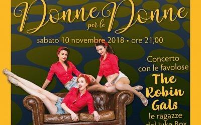 Donne per le Donne – Concerto con le The Robin Gals