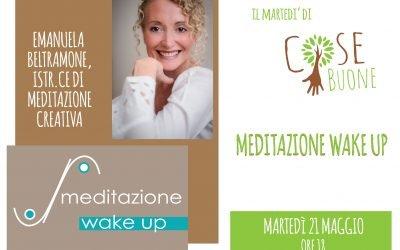 Emanuela Beltramone presenta 'Meditazione Wake Up'