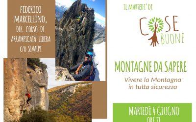 Federico Marcellino presenta 'Montagne da sapere'
