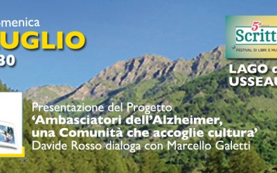 """Presentazione libro """"Ambasciatori per l'Alzheimer""""- rassegna Scritto Misto"""