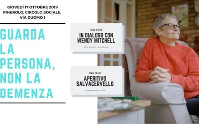 COMUNITA' DEMENTIA FRIENDLY: INCONTRO CON WENDY MITCHELL