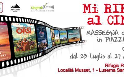 """Anche questa estate """"Mi Rifugio al Cinema"""""""